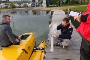 Test système de prélèvement d'eau