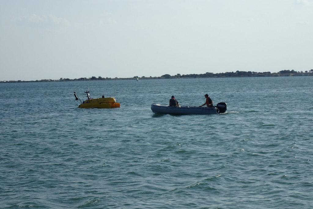Prélèvements d'eau dans la Baie d'Aytré